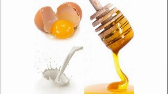 cách làm trắng da từ mật ong và trứng gà