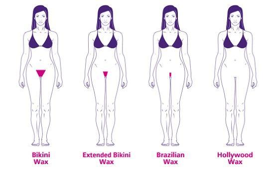 tạo hình bikini