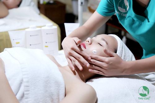 Chăm sóc da tại Thu Cúc giúp bạn gái có làn da mịn màng như ý một cách nhanh chóng, an toàn.