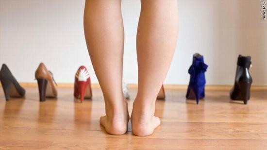 Bắp chân là một trong những vùng cơ thê rkhos giảm mỡ nhất