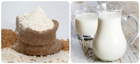 Công thức cám gạo và sữa tươi khá lành tính, phù hợp cả với những ai có làn da nhạy cảm