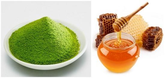 Đắp bột trà xanh với gì để dưỡng da