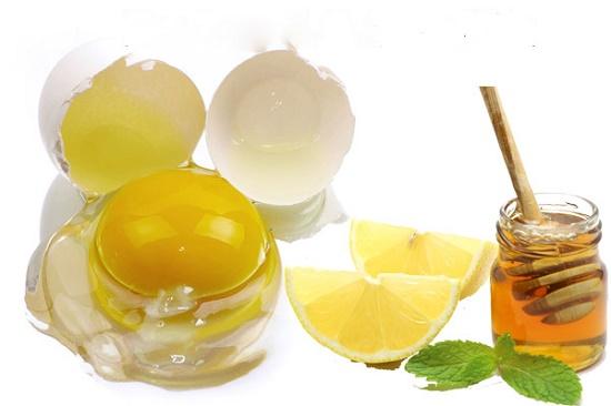Những vết mụn đáng ghét cũng có thể giải quyết với lòng trắng trứng, chanh và mật ong