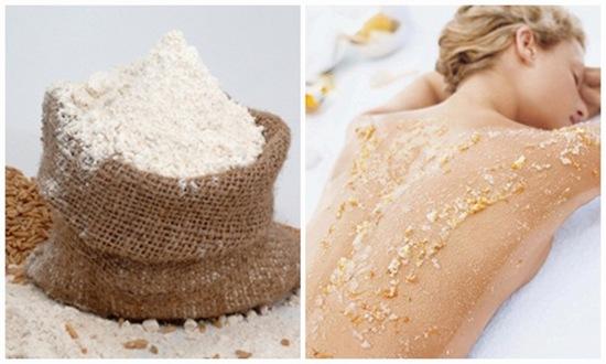 Tẩy da chết bằng bột cám gạo là bí quyết làm đẹp được nhiều chị em yêu thích