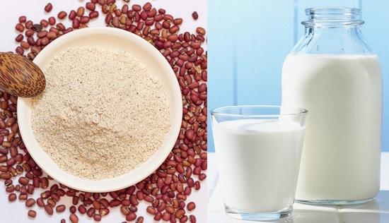 """Bột đậu đỏ và sữa tươi sẽ khiến bạn bất ngờ với sự """"lột xác"""" của làn da"""