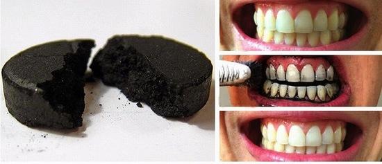 Nếu bạn đang tìm kiếm mẹo làm trắng răng thfi hãy thử sử dụng than hoạt tính nhé