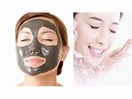 Rửa mặt bằng nước than hoạt tính hàng ngày giúp da sạch sẽ, sảng khoái