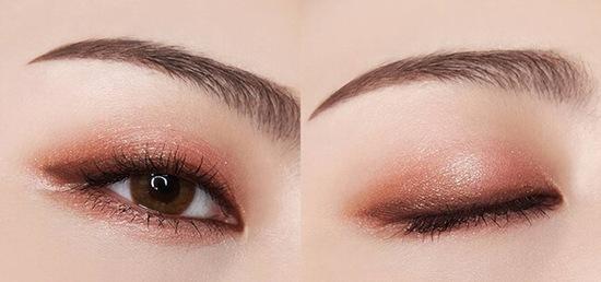 Nhũ mắt sẽ là điểm nhấn cuốn hút hơn cho đôi mắt
