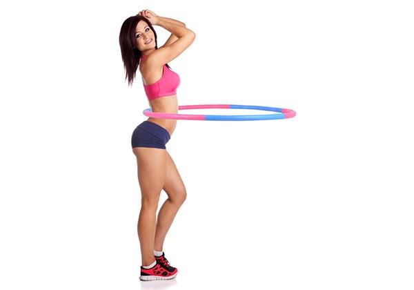 Lắc vòng giúp giảm mỡ bụng sau vài tháng