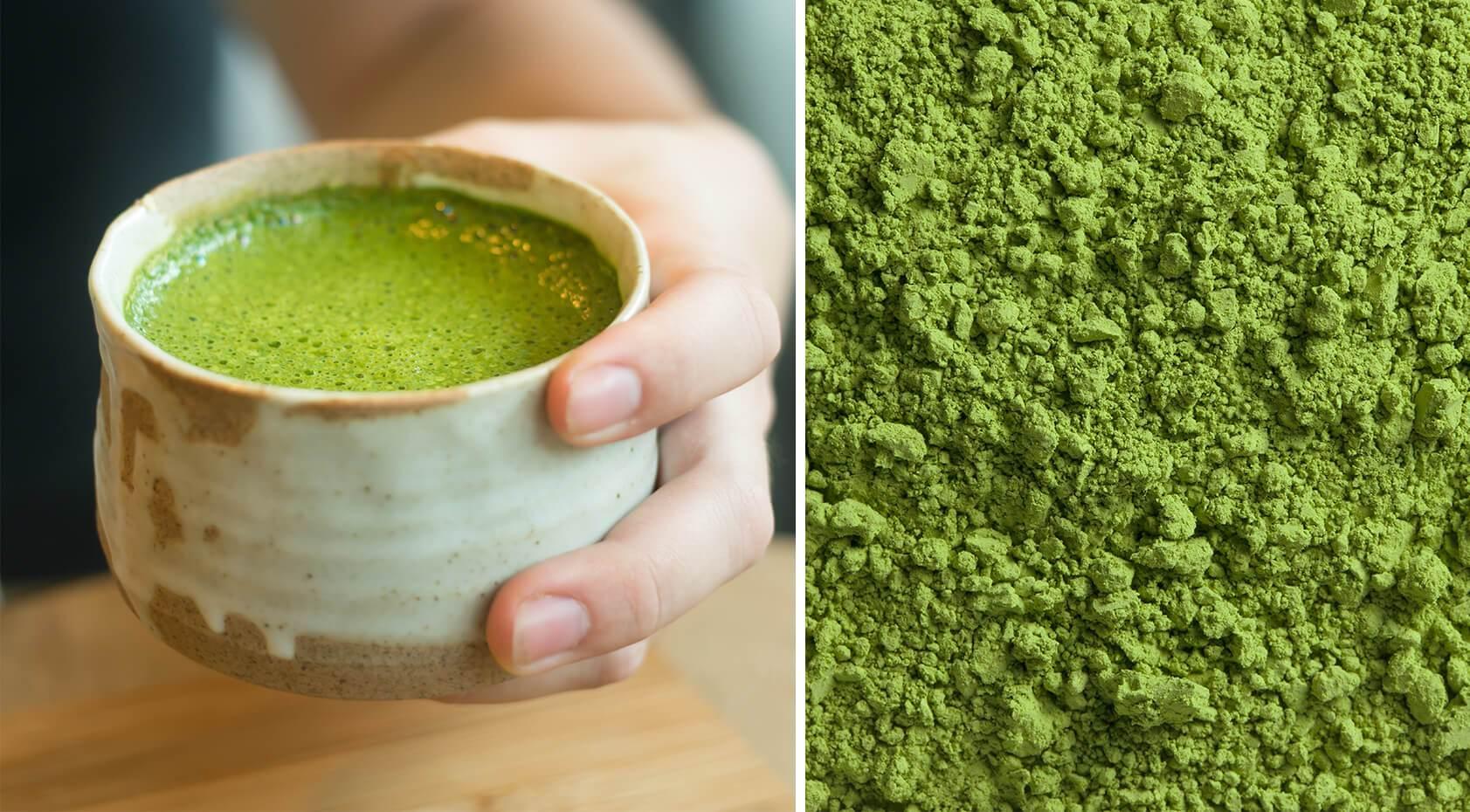 Uống trà xanh giúp chống lão hóa