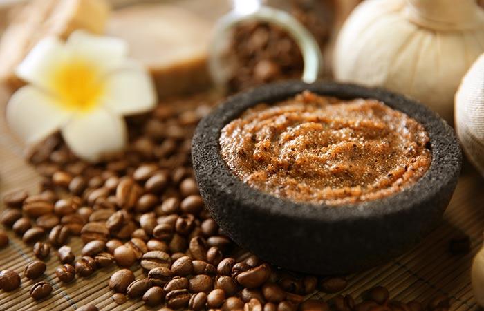 Bã cà phê và đường nâu tẩy tế bào chết cho body