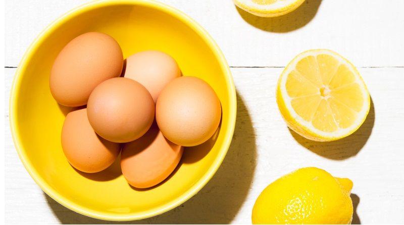 Mặt nạ lòng trắng trứng và chanh cho da dầu