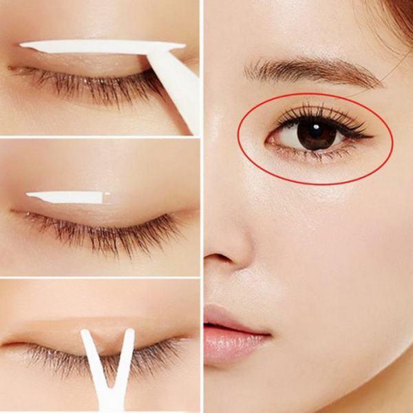 cách khắc phục mắt 3 mí tại nhà
