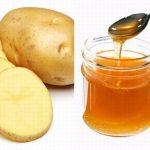 Bí quyết làm đẹp bằng khoai tây và mật ong