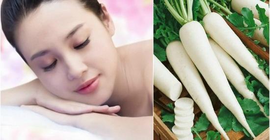 mặt nạ củ cải trắng