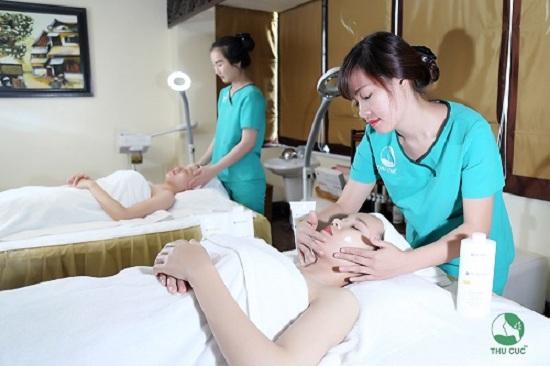 Bệnh viện Thu Cúc là một trong những địa chỉ có thực hiện chăm sóc da bằng công nghệ hiện đại được đông đảo chị em tin chọn.