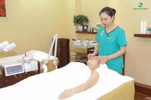 Chăm sóc làn da tại Thu Cúc là một bí quyết để bạn trải nghiệm cảm giác tuyệt vời