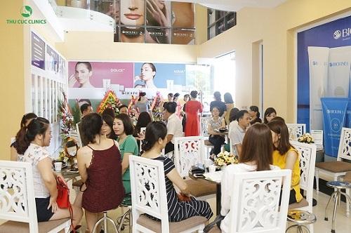 Thu Cúc Clinic Vinh được đông đảo khách hàng tin chọn.
