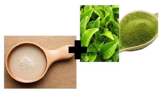Thêm một công thức làm đẹp với lá trà xanh được nhiều phụ nữ áp dụng