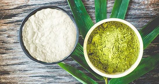 Các bạn đã biết cách làm mặt nạ chống lão hóa từ bột trà xanh và bột cám gạo chưa?